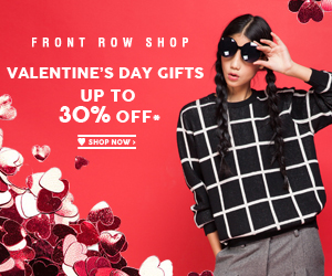Frontrowshop Valentine's Gift
