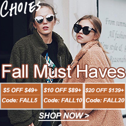 Fall is coming, Must Haves for you! SAVE $20