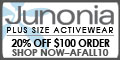 Shop Junonia this holiday! 20% off $100+ AFALL10