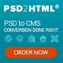 website development, PSD to CMS, WordPress, Magento, Shopify, Joomla, Drupal