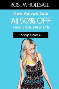 Rosewholesale 50% OFF New Arrivals