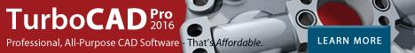 TurboCAD Professional - smarter, faster, and still affordable.
