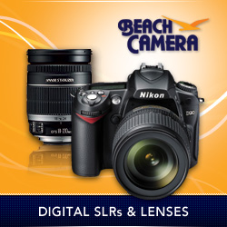 Beach Camera Digital SLRs