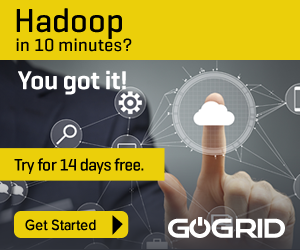 Hadoop in 10 minutes? Try for 14 days free.
