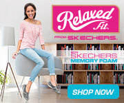 The Skechers Memory Foam delivers total comfort in Relaxed Fit from SKECHERS footwear for women! Cli