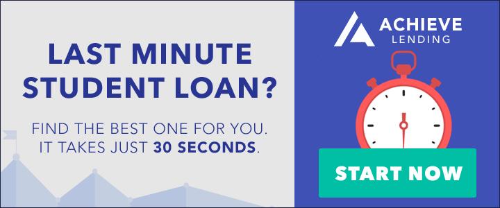 AchieveLending.com - Last Minute Student Loan