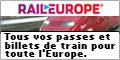 raileurope.com - tous pours les trains d'Europe