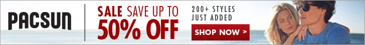50% Off Sale 780x90