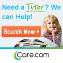 Find a tutor at Care.com!