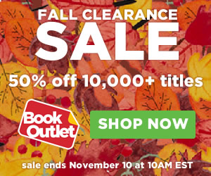 Fall Clearance Sale: 50% off at Book Outlet