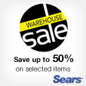 Free Shipping for items under 25 lbs. at Sears.ca