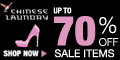 Save Up to 70% on Sale Items at ChineseLaundry.com