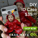 New! iPhone 4 DIY ID Case. Upload your image.