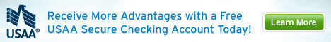 Receive more advantages with USAA Free Checking