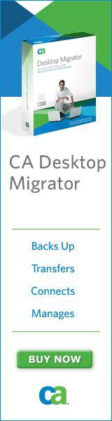 CA Desktop DNA Migrator 2007