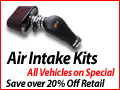Click to Buy Air Intake Kits - Save 20% Off