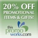 20% Off Promo Items & Gifts!
