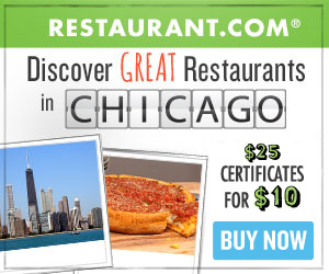 Chicago - Most $25 Gift Certificates for $10