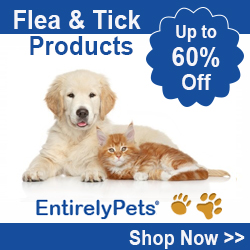 Flea and Tick Sale at EntirelyPets