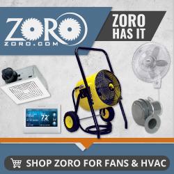Zoro HVAC Banner