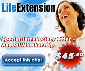 Life Extension Special Membership Offer