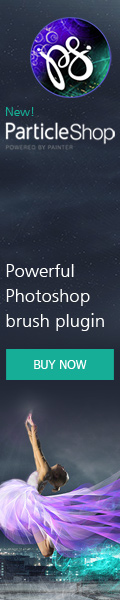 New Photoshop Plugin! ParticleShop