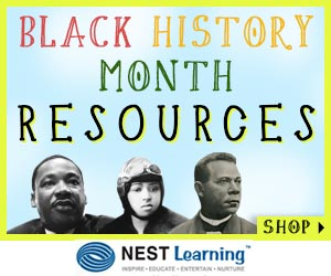 Celebrate Black History Month with our partner: NestLearning