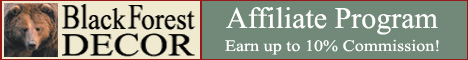 Black Forest Decor Affiliate Program