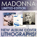 Madonna - New Album cover Lithographs