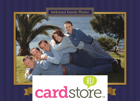 Affiliate Exclusive! 50% off Awkward Family Photo Cards at Cardstore! Use code: CAM2883