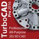 TurboCAD Professional - smarter, faster, and still affordable.