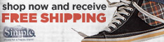 Free domestic ground shipping on orders over $75!