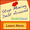 Stop Moving Around Debt. Pay off with DebtGoal.