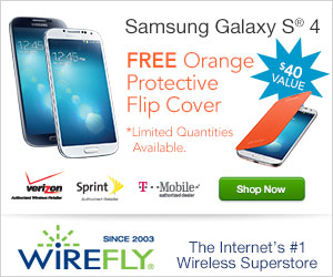 The New Samsung Galaxy S 4 at Wirefly!