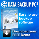 Data Backup PC3 Easy to Use Backup Software
