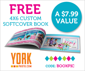 Free 4X6 Custom Softcover Photo Book + 40 Free Prints!