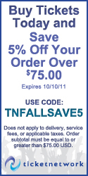 Save 5% off your order of $75+