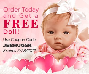 Order today and get a FREE doll when you Shop Now