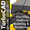 TurboCAD Deluxe - Powerful & Affordable 2D/3D CAD!