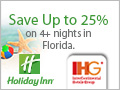 Save 10-30% at Holiday Inn on your Spring Break vacation when you book early!