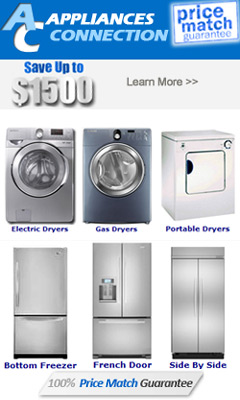 Price Match Guarantee on ALL Appliances