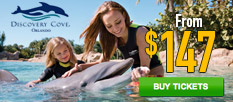 Discovery Cove Only $147