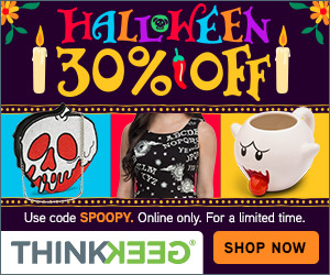 30% off Halloween with code