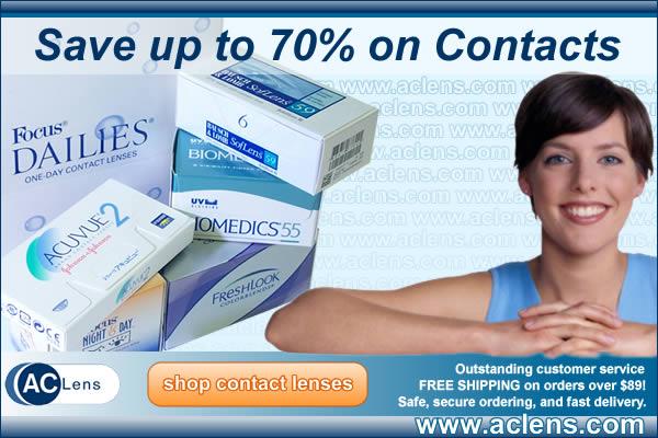 Buy Contact Lenses Online - AC Lens