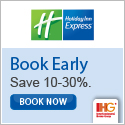 Discount up to 20% OFF when you book early @ HolidayInn.com.