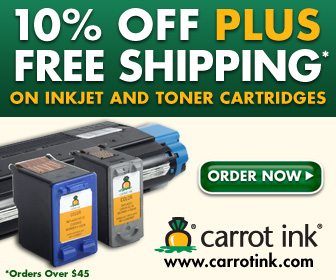 10% Off Carrot Ink Products Today!