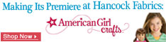American Girl Crafts at Hancock Fabrics