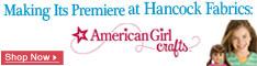 American Girl Crafts at Hancock Fabrics
