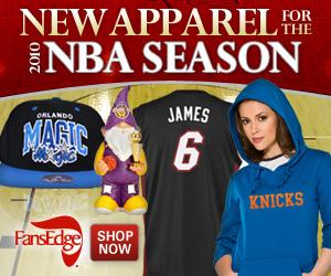 Buy 2010-2011 NBA Gear at FansEdge.com