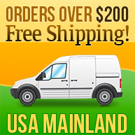 Free Shipping on Orders Over $200 (US mainland only)